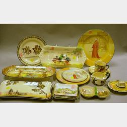 Seventeen Assorted Royal Doulton Series Ware Table Articles
