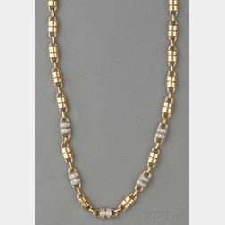 18kt Gold and Diamond Necklace, Van Cleef & Arpels