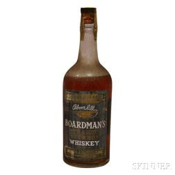 Boardmans Straight Bourbon Whiskey 1937, 1 quart bottle