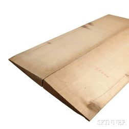 Spruce Violoncello Soundboard Blank