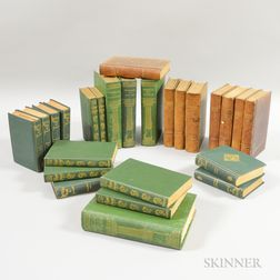 Large Group of Decorative Bindings