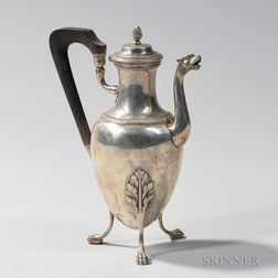 French .950 Silver Coffeepot