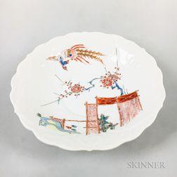 White Porcelain Kakiemon Dish