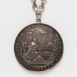 Undated Sebastian Dadler Silver Medal of Danzig