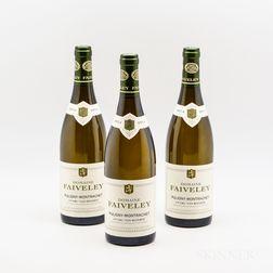 Faiveley Puligny Montrachet Les Referts 2014, 3 bottles