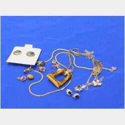 Lot of Nine Jewelry Items