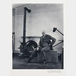 Berenice Abbott (American, 1898-1991)      Edward Hopper