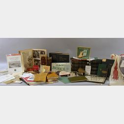 Sixteen Clinton, Worcester, Lancaster, and Middlesex County, Massachusetts Related Books, and a Collection of 20th Century Clinton, Mas