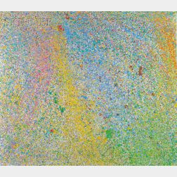 Walasse Ting (Chinese/American, 1929-2010)      Milky Way