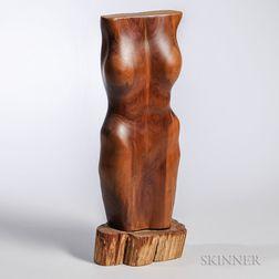 Southern Pine Torso Sculpture