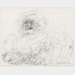 Dwight Mackintosh (American, 1906-1999)      Untitled (Compulsive Figure)