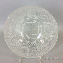 "Lalique ""Pinsons"" Glass Bowl"