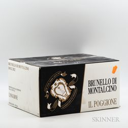 Il Poggione Brunello di Montalcino 2012, 6 bottles (oc)