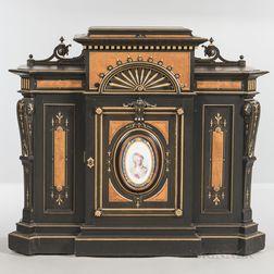 Victorian Ebonized Cabinet