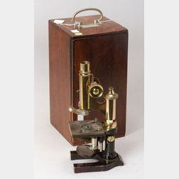 Leitz Compound Monocular Microscope