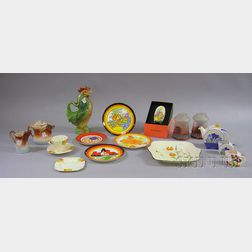 Group of Decorative and Collectible Glass and Ceramic Items