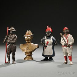 Four Figural Still Banks