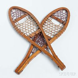 Pair of Miniature Snowshoes