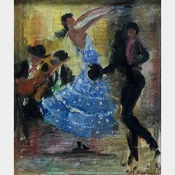 Josep Coll Bardolet (Spanish, 1912-2007)    Spanish Dancers