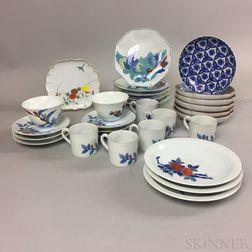 Set of Nabeshima Porcelain Tableware