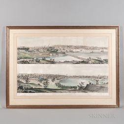 Panoramic Views of Providence, 1849.