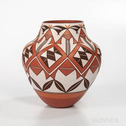 Contemporary Laguna Pottery Jar