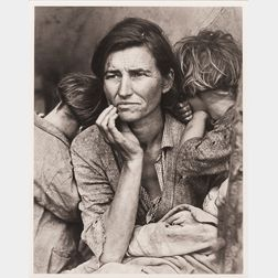 After Dorothea Lange (American, 1895-1965)      Migrant Mother   (Florence Owens Thompson)