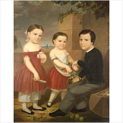 American School, 19th Century  The Briggs Children