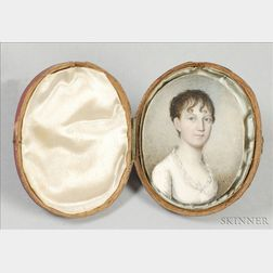 Portrait Miniature of Mary Orne Tucker