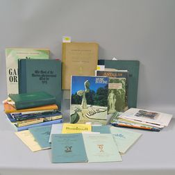 Thirty-three Books and Catalogues Relating to Garden Furniture, Sculpture, and   Antiques
