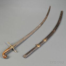 Persian Mameluke-style Sword