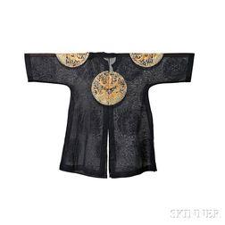 Embroidered Gauze Formal Dragon Robe
