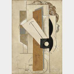 After Pablo Picasso (Spanish, 1881-1973)      Papiers Collés: 1910-1914  /A Portfolio of Ten Plates