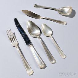 Art Deco Sterling Silver Flatware