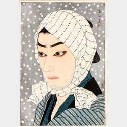 Natori Shunsen (1886-1990) Woodblock Print