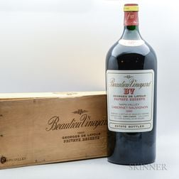Beaulieu Georges de Latour Private Reserve 1986, 1 6 liter bottle (owc)