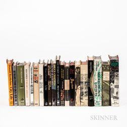 Twenty Mostly First Edition Works of Modern Fiction.
