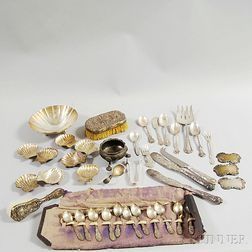 Group of Miscellaneous Sterling Flatware and Hollowware