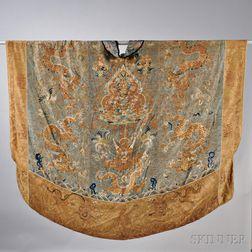 Couched Silk Daoist Priest's Robe