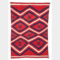 Navajo Late Classic Man's Wearing Blanket