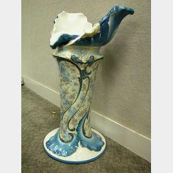 Ceramic Pedestal Base.