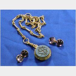Group of Antique 14kt Gold Gentleman's Items