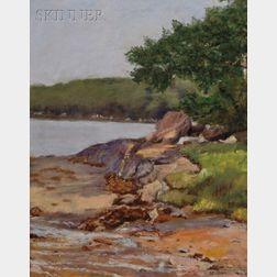 Anna Elizabeth Allen (American, 1881-1959)      Boothbay Harbor, Maine