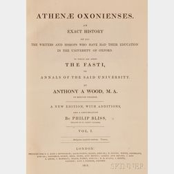 Wood, Anthony A. (1632-1695)