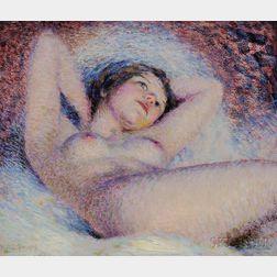 William Henry Clapp (American, 1879-1954)      Nude