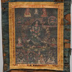 Hanging Scroll Thangka
