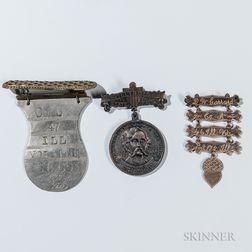 Three Illinois Civil War Veteran's Medals
