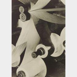 Margaret Bourke-White (American, 1904-1971)  Spindles.
