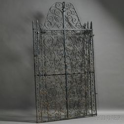 Tanglewood Wrought Iron Gate