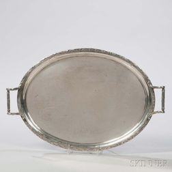 German .800 Silver Tray